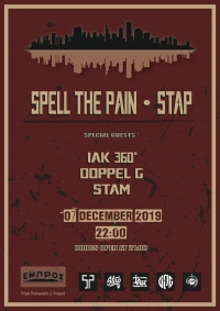 7/12, 22:00 - Live SPELL THE PAIN - STAP